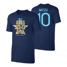 Argentina CA2021 'Qualifiers' t-shirt MESSI, dark blue