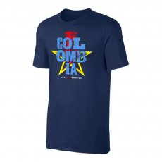 Colombia CA2021 'Qualifiers' t-shirt, dark blue