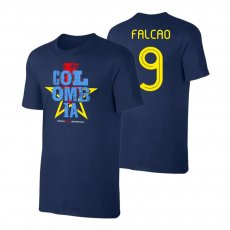 Colombia CA2021 'Qualifiers' t-shirt FALCAO, dark blue