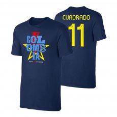 Colombia CA2021 'Qualifiers' t-shirt CUADRADO, dark blue