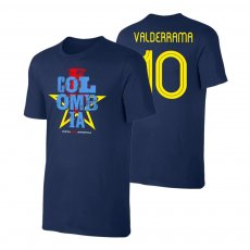 Colombia CA2021 'Qualifiers' t-shirt VALDERRAMA, dark blue