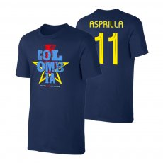 Colombia CA2021 'Qualifiers' t-shirt ASPRILLA, dark blue