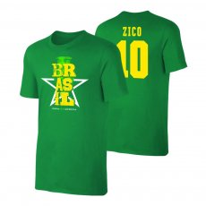 Brasil CA2021 'Qualifiers' t-shirt ZICO, green