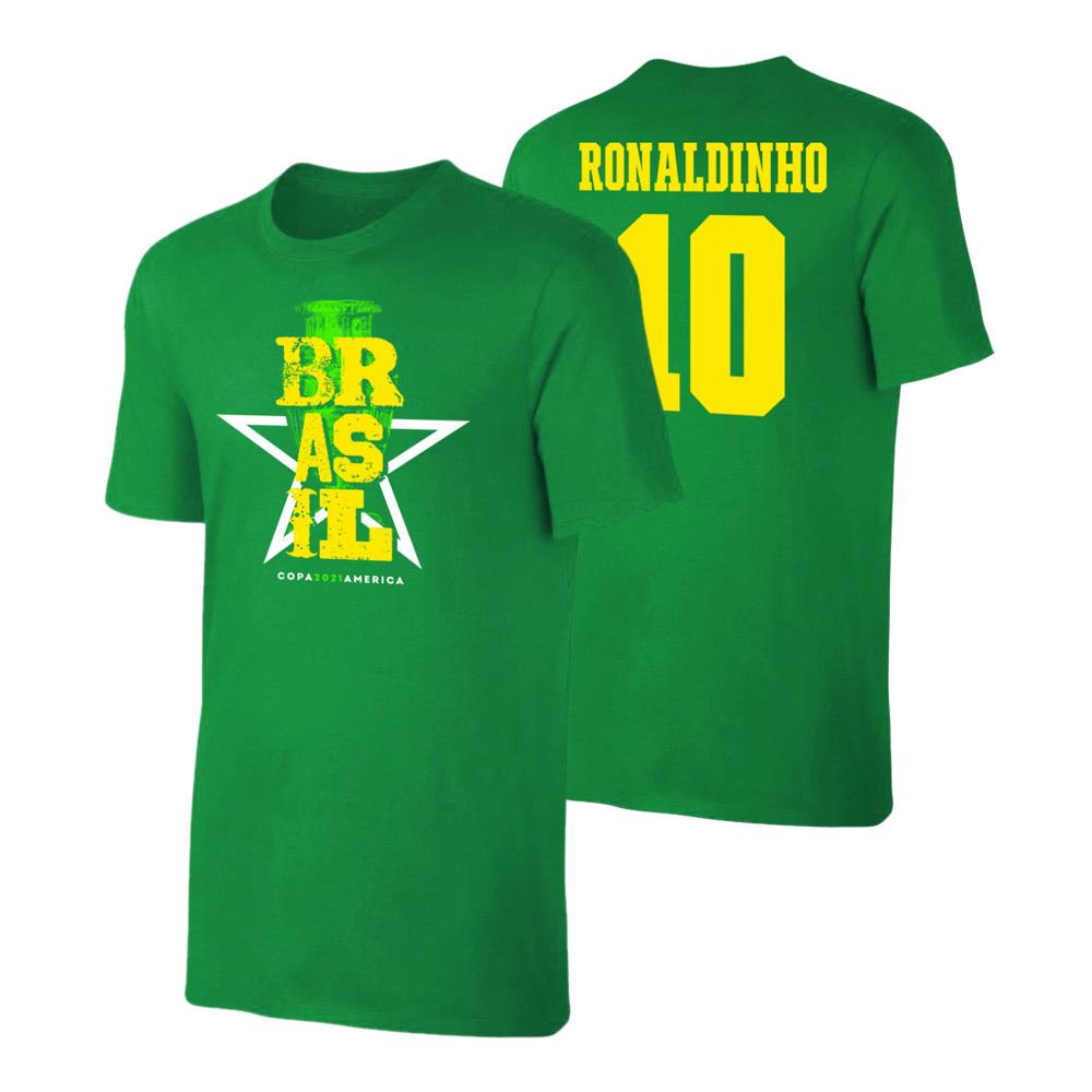 Brasil CA2021 'Qualifiers' t-shirt RONALDINHO, green