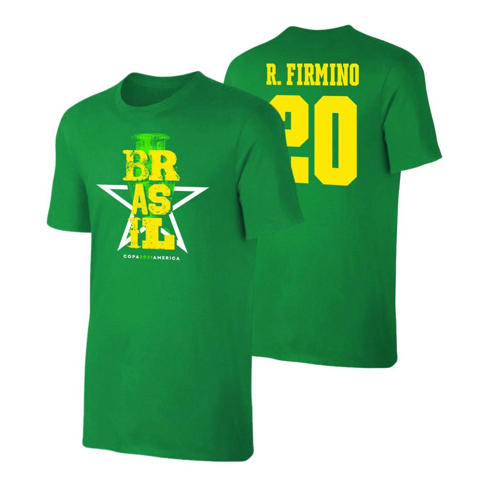 Brasil CA2021 'Qualifiers' t-shirt FIRMINO, green