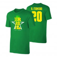 Brasil CA2021 'Qualifiers' t-shirt FIRMINO, green