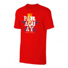 Paraguay CA2021 'Qualifiers' t-shirt, blue red