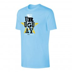Uruguay CA2021 'Qualifiers' t-shirt, light blue