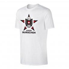 Austria EU2020 'UNSERE BURSCHEN' t-shirt, white