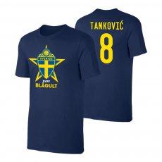 Sweden EU2020 'BLÅGULT' t-shirt TANKOVIC, dark blue