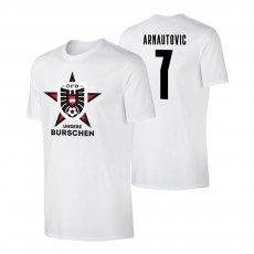 Austria EU2020 'UNSERE BURSCHEN' t-shirt ARNAUTOVIC, white