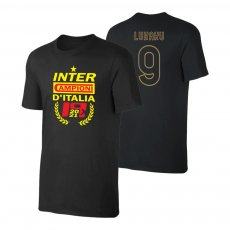Inter 'CHAMPIONS 20/21' t-shirt LUKAKU, black
