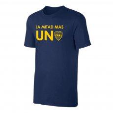 Boca Juniors 'La Mitad Mas Uno 2021' t-shirt, dark blue