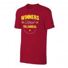 Villarreal 'EL Winners 2021' t-shirt, crimson
