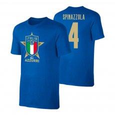 Italy EU2020 'GLI AZZURRI' t-shirt SPINAZZOLA, blue