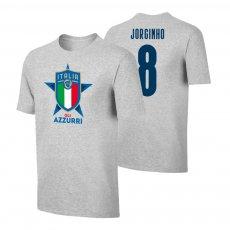 Italy EU2020 'GLI AZZURRI' t-shirt JORGINHO, grey
