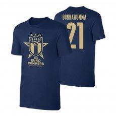 Italy EU2020 'WINNERS' t-shirt DONNARUMMA, dark blue