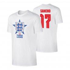 England EU2020 'THE THREE LIONS' t-shirt SANCHO, white