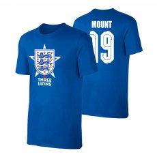 England EU2020 'THE THREE LIONS' t-shirt MOUNT, blue