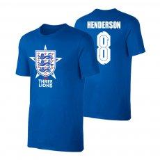 England EU2020 'THE THREE LIONS' t-shirt HENDERSON, blue