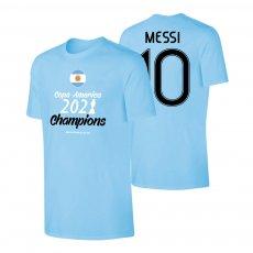 Argentina CA2021 'WINNERS' t-shirt MESSI, light blue