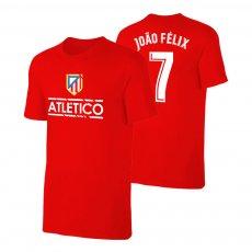 Atletico Madrid 'TEAM' t-shirt JOAO FELIX, red