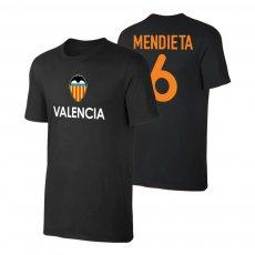 Valencia 'TEAM' t-shirt MENDIETA, black