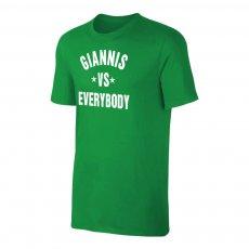 "Bucks ""GIANNIS vs EVERYBODY"" t-shirt, green"