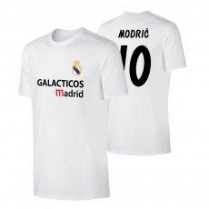Real Madrid 'GALACTICOS' t-shirt MODRIC, white