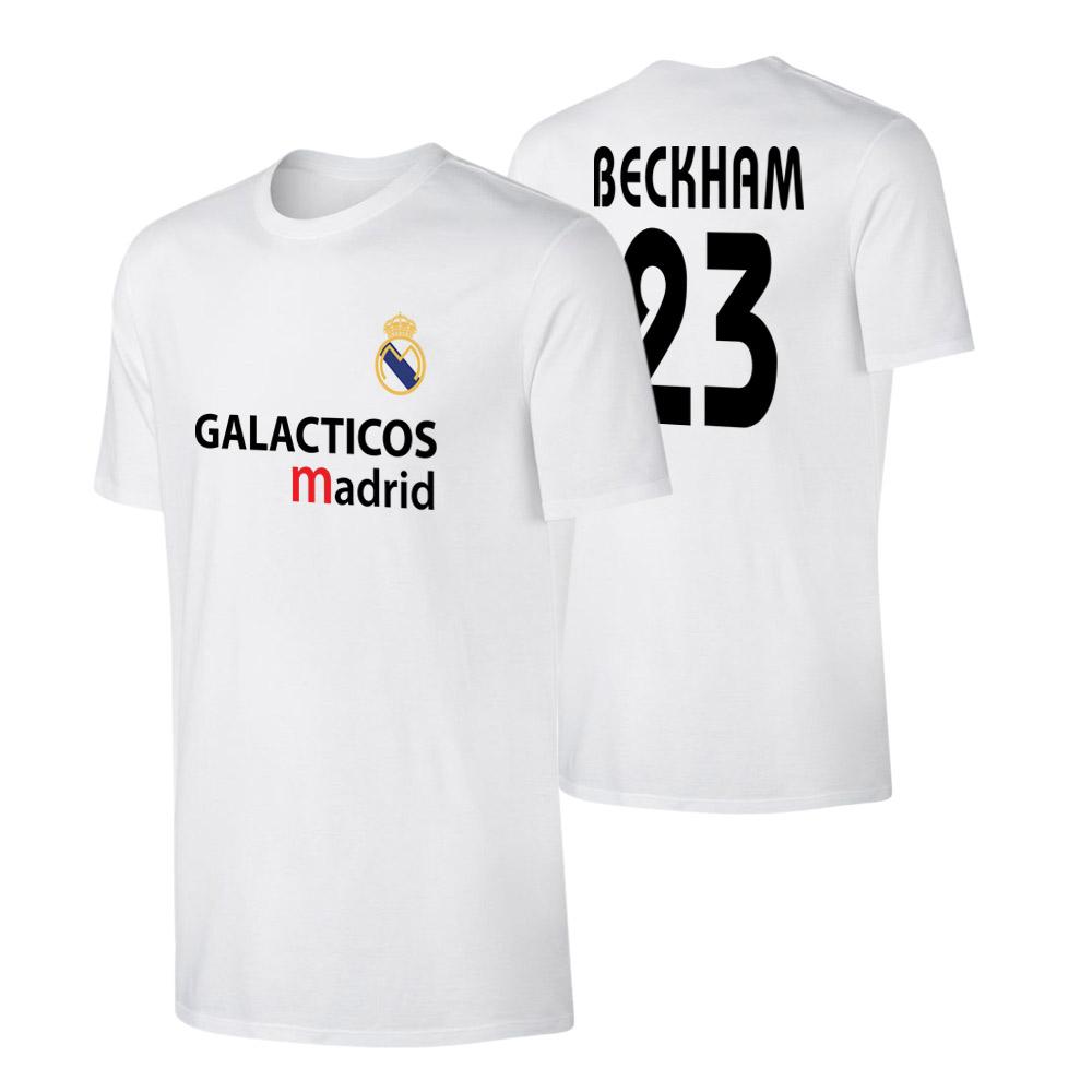 Real Madrid 'GALACTICOS' t-shirt BECKHAM, white