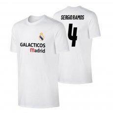 Real Madrid 'GALACTICOS' t-shirt RAMOS, white