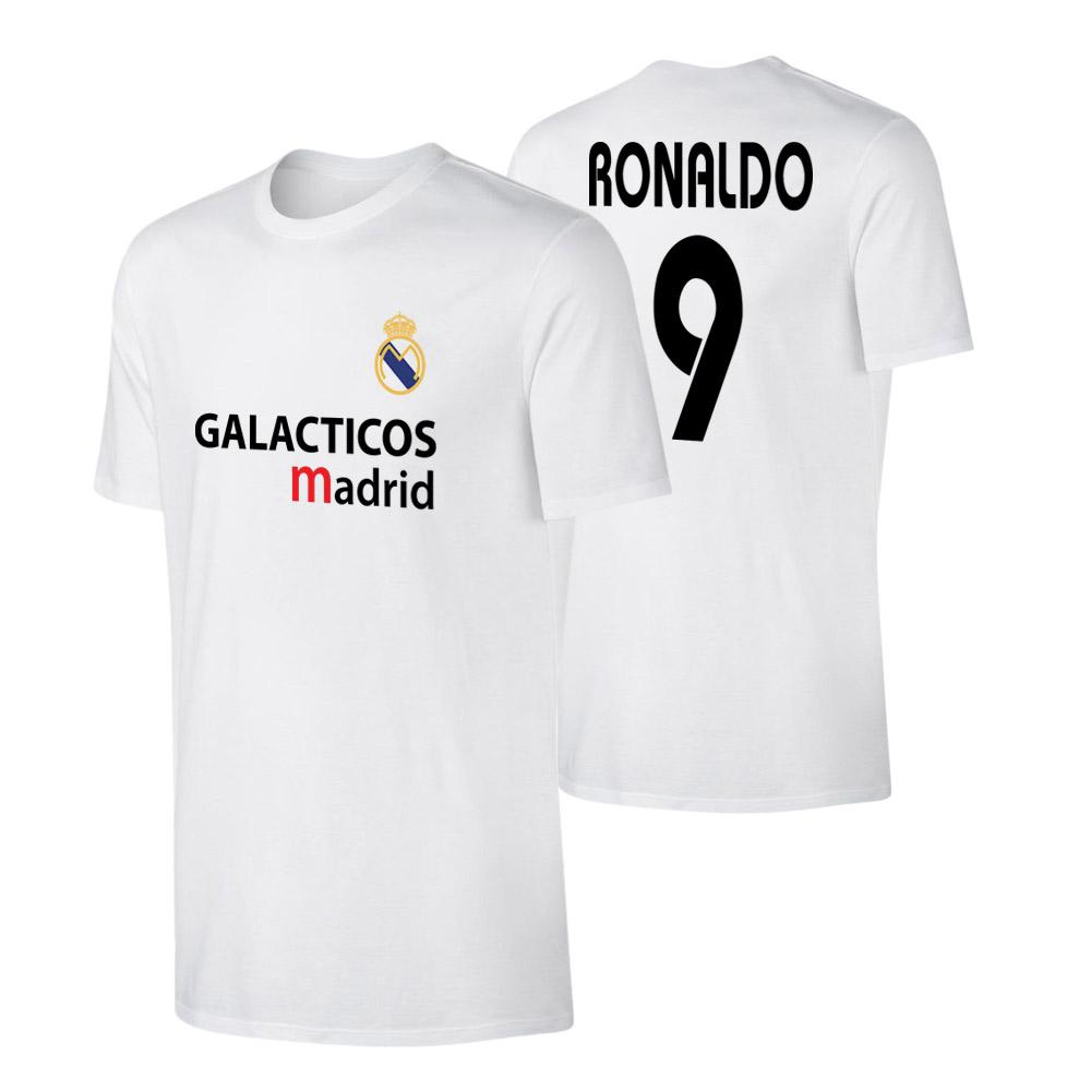 Real Madrid 'GALACTICOS' t-shirt RONALDO, white