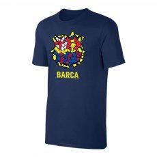 """Barcelona """"Dali CREST"""" t-shirt, dark blue"""