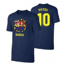 "Barcelona ""Dali CREST"" t-shirt MESSI, dark blue"