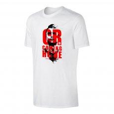 Ronaldo 'CR is COMING HOME' t-shirt, white