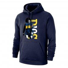 Boca 'D10S 21' footer with hood, dark blue