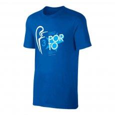 Porto Road to MADRID t-shirt, blue