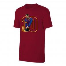 Barcelona MESSI No10 t-shirt, crimson