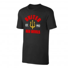 Manchester United 'Est.1902' t-shirt, black