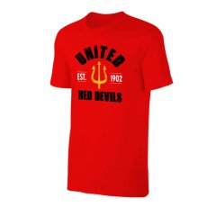 Manchester United 'Est.1902' t-shirt, red