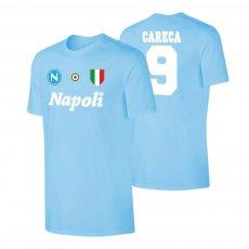 Napoli 'Vintage 86/87' t-shirt CARECA, light blue