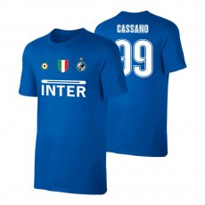Inter 'Vintage 97/98' t-shirt CASSANO, blue