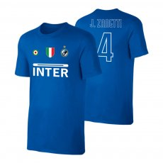 Inter 'Vintage 97/98' t-shirt JANETTI, blue