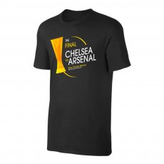 Europa League Final 2019 'Chelsea vs Arsenal' t-shirt, black