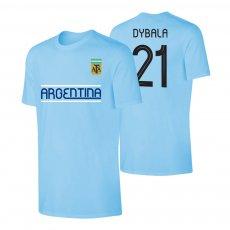 Argentina CA2019 'Qualifiers' t-shirt DYBALA, light blue