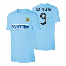 Argentina CA2019 'Qualifiers' t-shirt AGUERO, light blue