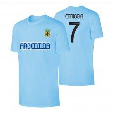 Argentina CA2019 'Qualifiers' t-shirt CANNIGIA, light blue