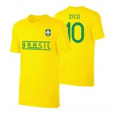 Brasil CA2019 'Qualifiers' t-shirt ZICO, yellow