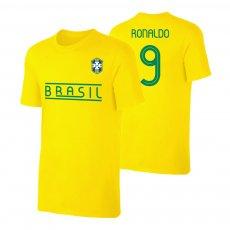 Brasil CA2019 'Qualifiers' t-shirt RONALDO, yellow
