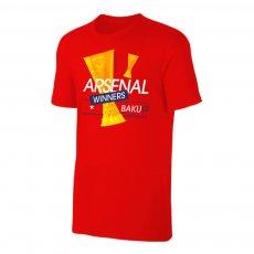 Arsenal 'EL Winners19' t-shirt, red